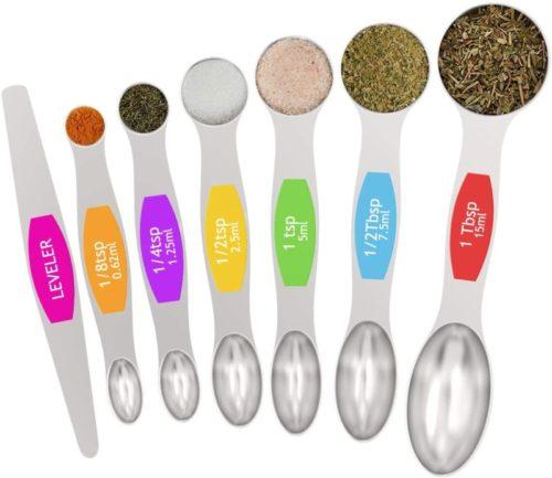#10. Wildone Heat-resistant Measuring Spoons Set