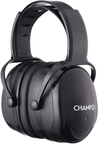 #10.Champs Noise Reduction Safety Ear Muffs