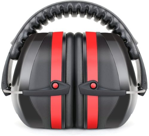 #3. Fnova 34dB Highest NRR Safety Ear Muffs
