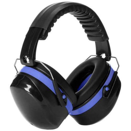 #4.AmazonBasics Noise Reduction Safety Earmuffs
