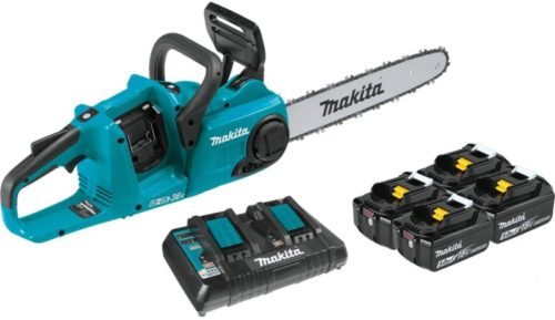 #6. Makita Cordless Chainsaw with LED