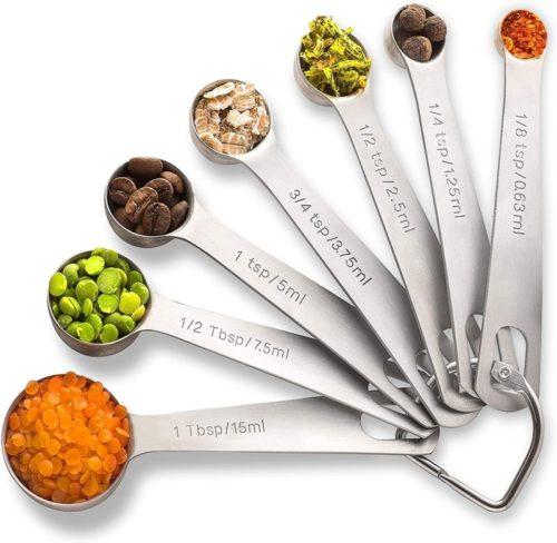 #6. PALADA Lightweight Measuring Spoons Set