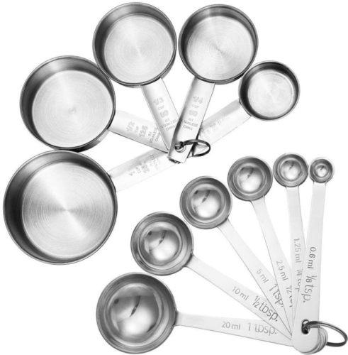 #7. Accmor Measuring Spoons Set - 11 Pieces