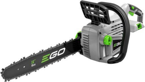#7. EGO Power+ Tough Cordless Chainsaw
