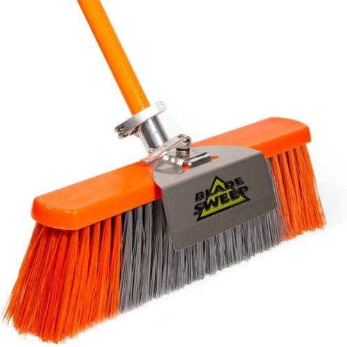#8. Blade Sweep Stainless Steel Outdoor Broom