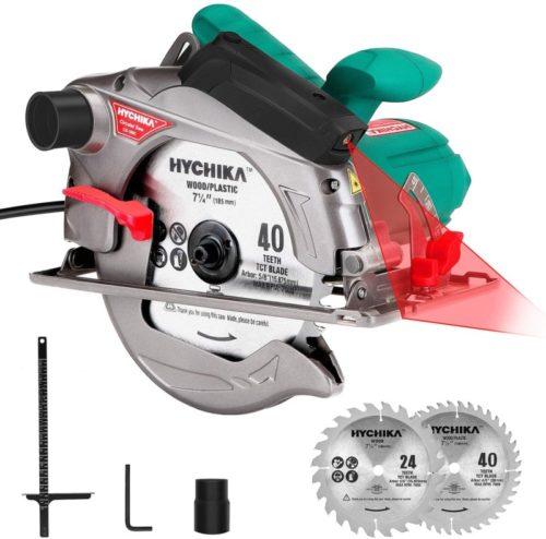 #8. HYCHIKA Sharp Circular Saw