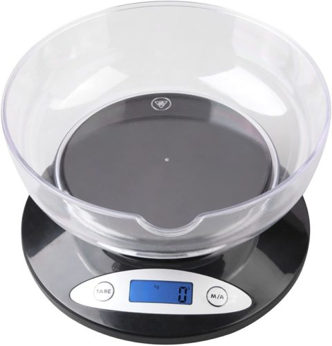#8. Weighmax Kitchen Scale with Bowl