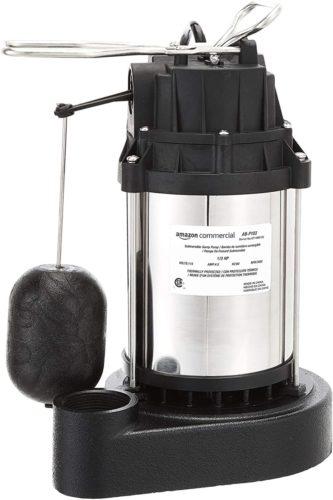 #9. AmazonCommercial Sump Pumps