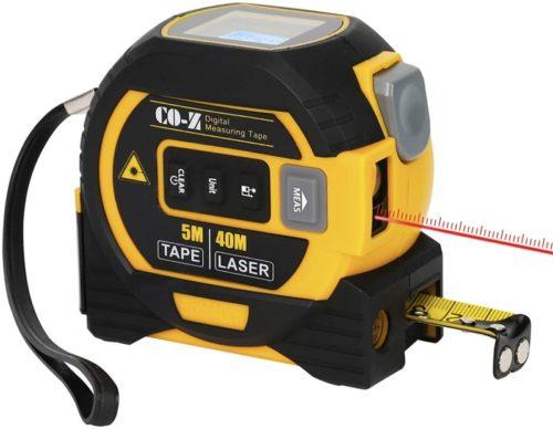 #9. CO-Z 3-in-1 Digital Tape Measure
