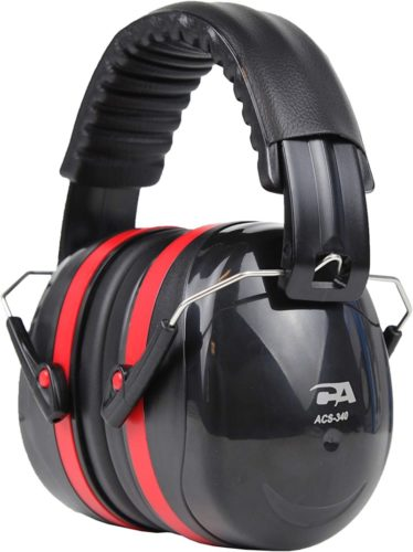 #9.Cyber Acoustic Professional Safety Heavy Duty Safety Ear Muffs