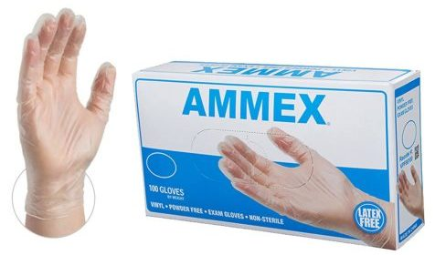 AMMEX Medical Clear Vinyl