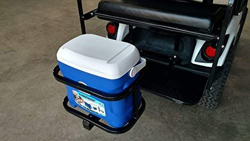 Ez-go, Club Car, Yamaha, ATV, UTV Golf Cart Hitch Cooler Carrier Igloo Cooler Included