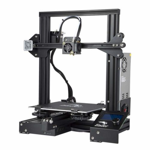 Comgrow Creality Ender 3 3D Printer Fully Open Source with Resume Print Function 220x220x250mm TOP 10 BEST 3D PRINTER UNDER 500 IN 2020 REVIEWS