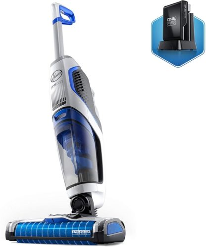 Hoover ONEPWR FloorMate Jet Cordless Hard Floor Cleaner, Wet Vacuum with 3Ah Battery, BH55210, White