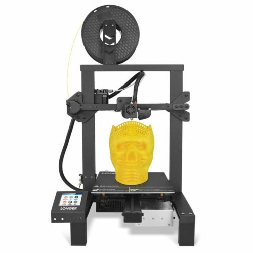 """LONGER LK4 3D Printer 90% Pre-Assembled with 2.8"""" Full Color Touch Screen, Resume Printing, Filament Detector, Built-in Safety Power Supply 220x220x250mm"""
