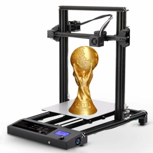 """SUNLU 3D Printer DIY Kit, Large Size FDM 3D Printer 12""""x 12"""" x 15.5"""" with Dual Z Axis Printing, Filament Run Out Detection, and Resume Printing"""