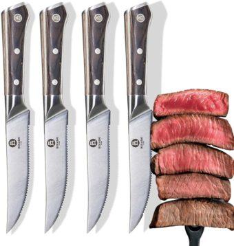 BOKASHI STEEL Steak Knives