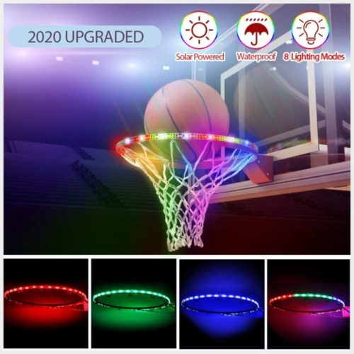 Innoo-Tech-LED-Basketball-Hoop-Lights-Solar-Powered-Glow-in-The-Dark-Basketball-Rim-Lights-Waterproof-Super-Bright-Strip-Lights-with-8-Light-Modes