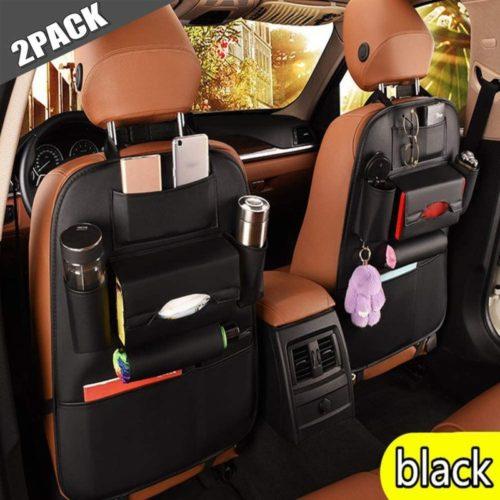 Jiadi Si PU leather car seat organizer