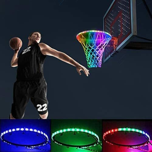 Kwsdo-Basketball-Hoop-Light-up-Rim-Outdoor-Solar-LED-Basketball-Hoop-Lights-8-Light-Modes-IP65-Waterproof-Ultra-Bright-Ideal-for-Playing-Training-Party-Games-at-Night