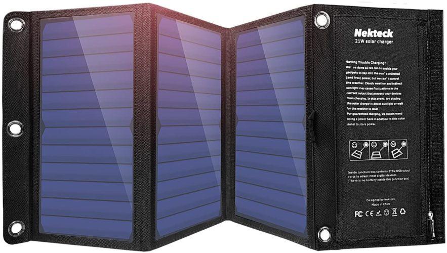 Nekteck 21W Portable Solar
