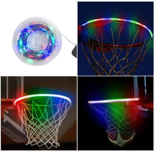 SANESKY-LED-Basketball-Rim-Lights-Waterproof-Basketball-Solar-Energy-Hoop-Light-4.9ft-LED-Strap-Lights-Battery-Box-Adhesive-Pads