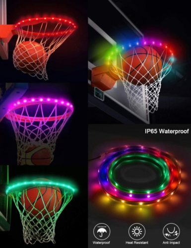 SeaELF-LED-Basketball-Hoop-Lights-Basketball-Rim-Lights-Strip-Waterproof-Shooting-Score-Super-Bright-with-7-Light-Modes-Ideal-for-Kids-Adults-Parties-and-Training-Playing-at-Night-Outdoors