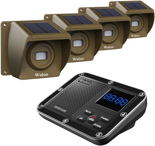 Solar Driveway Alarm Wireless
