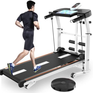 UAMSISTE Folding Treadmill