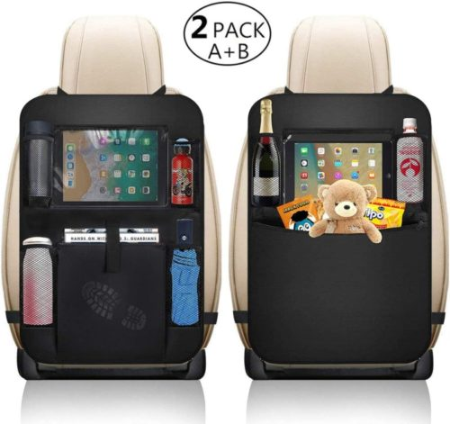 XBRN car seat organizer with many compartments