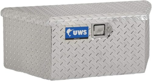 UWS EC20411 34-Inch Heavy-Wall Aluminum Trailer Tongue Tool Box with Low Profile, RigidCore Lid