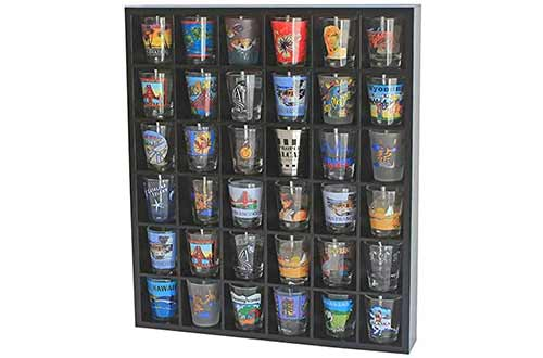 Shot Glass Display Cases