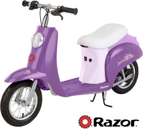Razor Pocket Mod Miniature Euro Electric Scooter - Betty TOP 10 BEST ELECTRIC SCOOTER WITH SEAT FOR ADULTS IN 2020 REVIEWS