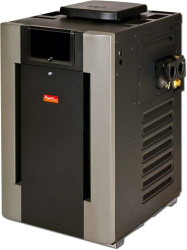 Raypak 406,000 BTU Digital Electronic Ignition Natural Gas Pool Heater