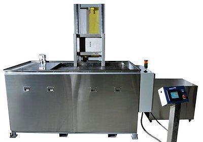 SHARPTERTEK Automatic Ultrasonic Cleaner Power Lift With Agitation 245 Gallon
