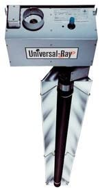 RHT-175-60-N Two-Stage Natural Gas 175,000 BTU 60' Long Radiant Tube Heater