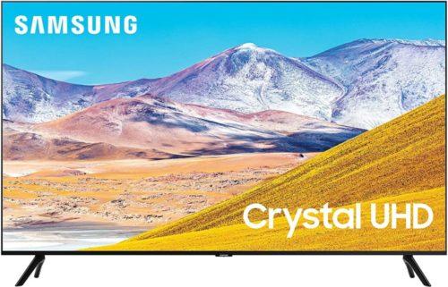 Samsung 85-inch Class Crystal UHD TU-8000 Series - 4K UHD HDR Smart TV with Alexa Built-in (UN85TU8000FXZA, 2021 Model)