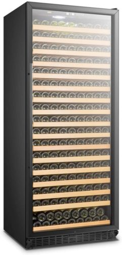 Lanbo Single Zone Red Wine Cellar, Built-in Refrigerator with Safety Lock, 289 Bottle