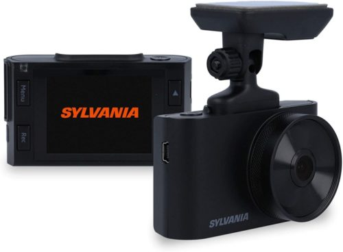 SYLVANIA - Roadsight Basic Dash Camera - 110 Degree View, HD 720p, 16GB SD Memory Card Included, Loop Recording, GSensor, 2 inch LED IPS Screen, Parking Mode, Magnetic Mount, Taxi, Truck, Car