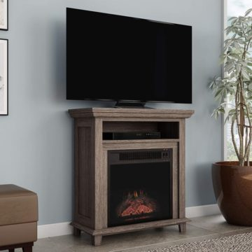 Northwest Corner Fireplace TV Stands
