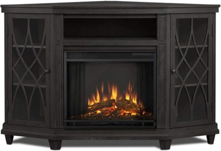 Real Flame Corner Fireplace TV Stands