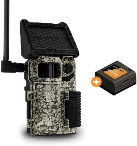 SPYPOINT-LINK-MICRO-S-LTE-Solar-Cellular-Trail-Camera-4-LED-Infrared-Flash-Game-Camera-with-80-foot-Detection-and-Flash-Range-LTE-Capable-Cellular-Trail-Camera-10MP-0.4-second-Trigger-Speed