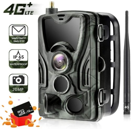 SUNTEKCAM-LTE-4G-Cellular-Trail-Cameras-20MP-1080-HP-Wireless-Camera-for-Wildlife-Monitoring-with-120°Detecting-Range-Motion-Activated-Night-Vision-Waterproof-16GB-SD-Card-and-Card-Reader