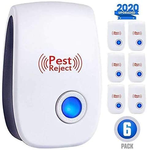 ZEROPEST-Ultrasonic-New-Pest-Control-Set-of-6-Packs-Electronic-Plug-in-Repellent-Indoor-for-Flea-Insects-Mosquitoes-Mice-Spiders-Ants-Rats-Roaches-Bugs-Non-Toxic-Humans-Pets-Saf-Blue