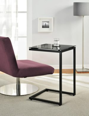 Ameriwood Home C-shaped table