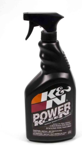 K&N Air Filter Cleaner and Degreaser: Power Kleen; 32 Oz Trigger Spray; Restore Engine Air Filter Performance, 99-0621