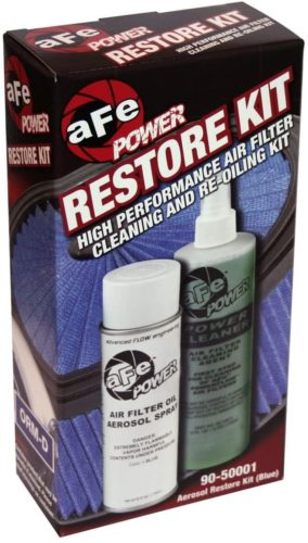 aFe Power MagnumFLOW 90-50001 Air Filter Restore Kit (Single, Blue) TOP 10 BEST AIR FILTER CLEANERS IN 2020 REVIEWS