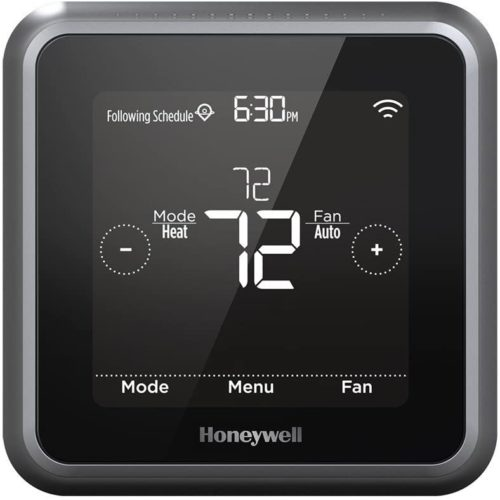 Honeywell Home RCHT8610WF2006/W T5 Wi-Fi Thermostat, Black TOP 10 BEST WIRELESS THERMOSTATS IN 2020 REVIEWS