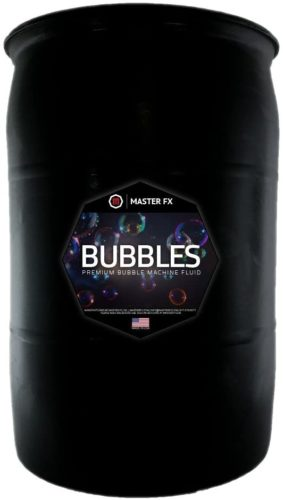 Bubbles - Premium Bubble Machine Fluid - Creates Long Lasting Colorful Bubbles - Non-Toxic - (55 Gallon Drum)