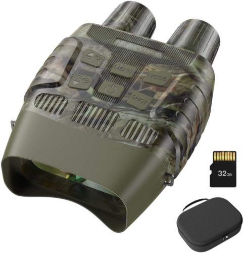JStoon Night Vision Goggles Night Vision Binoculars - Digital Infrared Binoculars with Night Vision with 32 GB Memory Card